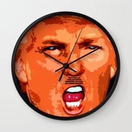 Donald J. Trump Wall Clock