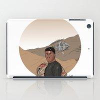 finn iPad Cases featuring Finn by jorgeink