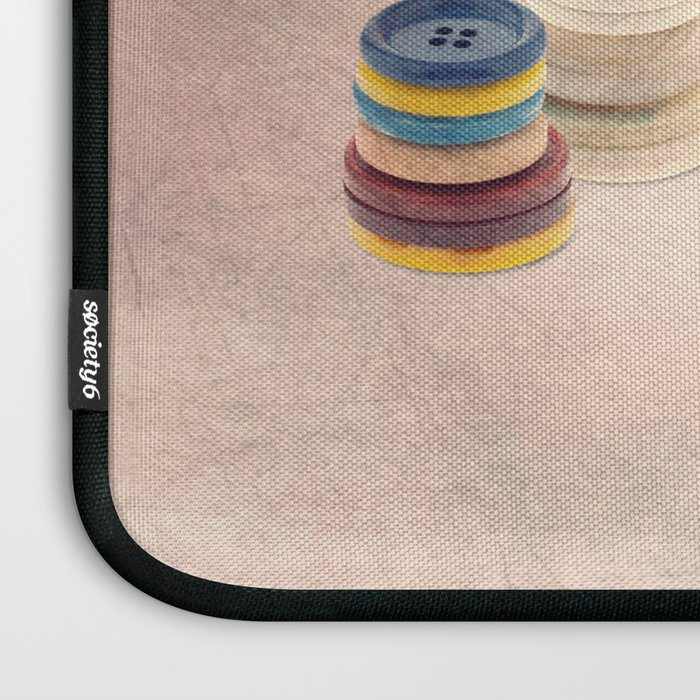 The button sorter Laptop Sleeve