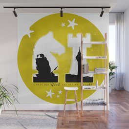 KNIGHT ROOK (Yellow) Wall Mural