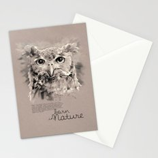 Owl (BornInNature) Stationery Cards