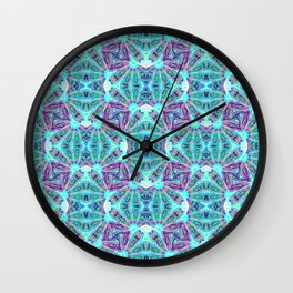 Fan Dance Wall Clock