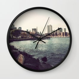 The Calm of the City Wall Clock