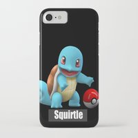 squirtle iPhone & iPod Cases featuring Squirtle 2 by Yamilett Pimentel
