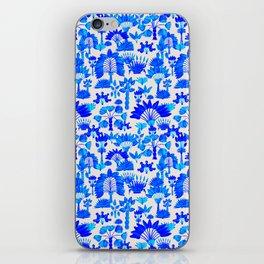 Exotic Garden Blue iPhone Skin