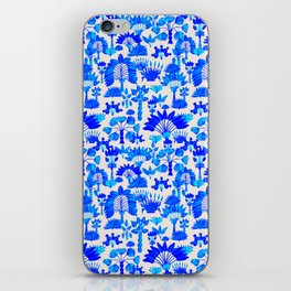 Exotic Garden Blue iPhone Skin
