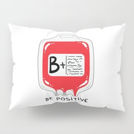 Be positive Pillow Sham