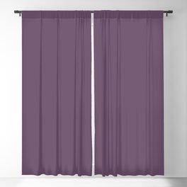 Pratt and Lambert 2019 Amethyst Purple 30-15 Solid Color Blackout Curtain
