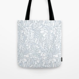 Folk Leaves Tote Bag