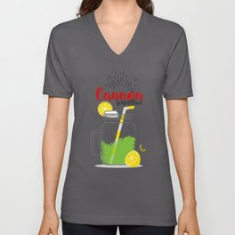 Fresh fruity drink in Cannon, USA Unisex V-Neck