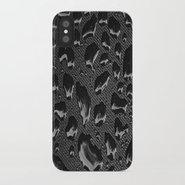 creative water droplets  iPhone Case