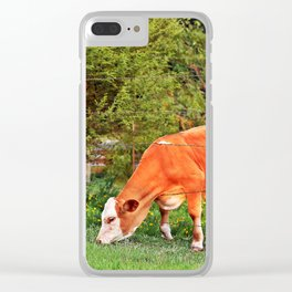 The Grass Is Greener on the Other Side Clear iPhone Case