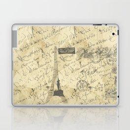 Parisian French Script Laptop & iPad Skin