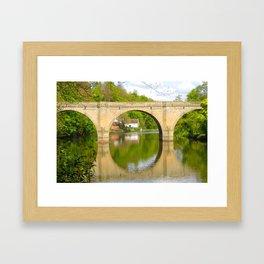 Durham Bridge Framed Art Print