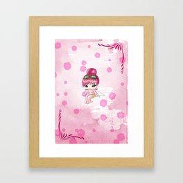 Chibi Morphine Framed Art Print