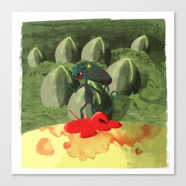 Alien Covenant - Baby Xeno Canvas Print