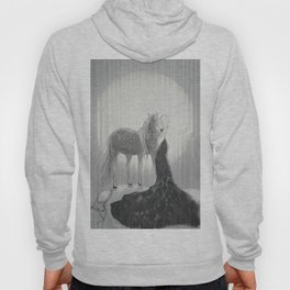 Our Hearts In the Moonlight  Hoody