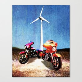 Cruisers Canvas Print