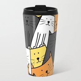 The Cats are Watching Travel Mug