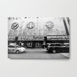 NYC Radio City Music Hall Metal Print