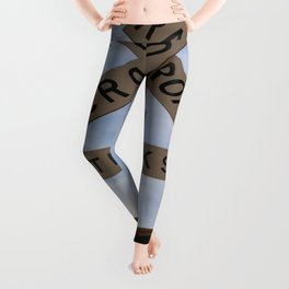 Railroad Crossing Leggings