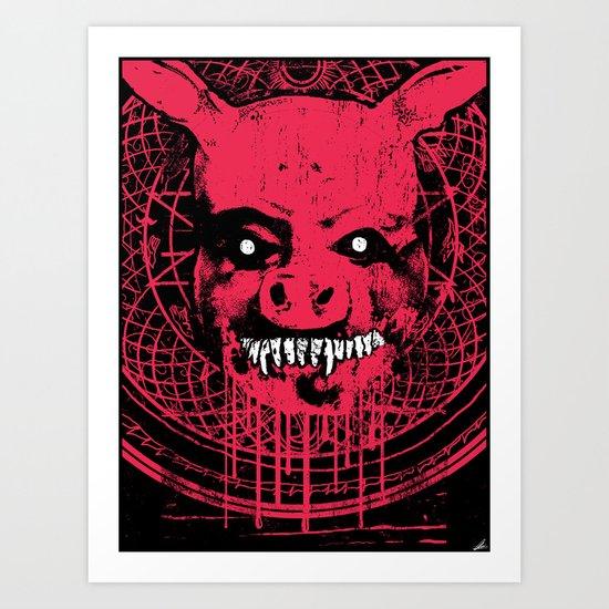 SWINE'R Art Print