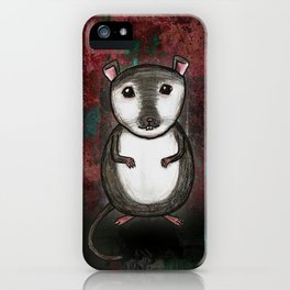 Gemma the Gerbil iPhone Case