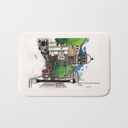 Philippines : Santa Cruz Church Bath Mat
