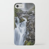 waterfall iPhone & iPod Cases featuring Waterfall. by Michelle McConnell