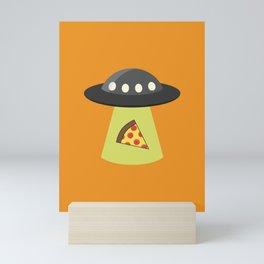 Take Me to Your Pizza Mini Art Print