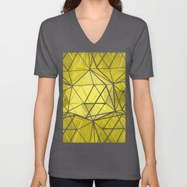 hexagonal dreaming Unisex V-Neck