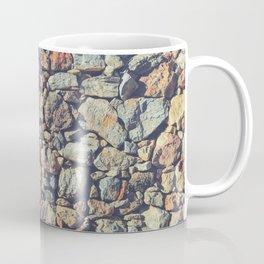 Cobblestones Wall Texture Coffee Mug