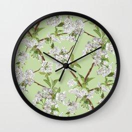 Early Blossom Wall Clock