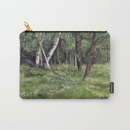 Woodland Forest Landscape Nature Art Carry-All Pouch