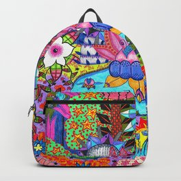 Pond Abstract Backpack