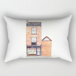 The Cats of York by Charlotte Vallance Rectangular Pillow