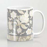 boho Mugs featuring boho paisley by Ariadne