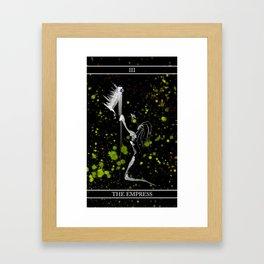 A Tarot of Ink Major Arcana III The Empress Framed Art Print