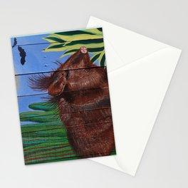 Javelina on Pallet Stationery Cards