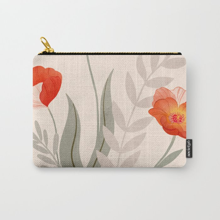 Summer Flowers II Carry-All Pouch