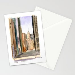 Chicago - Michigan Avenue Stationery Cards