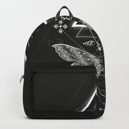 Mysterious moth Backpack