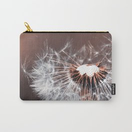 Dandelion Flower Carry-All Pouch