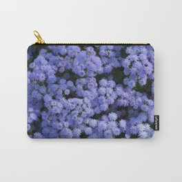 Ageratum Flowers Carry-All Pouch
