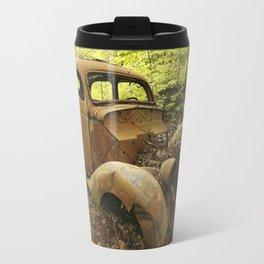 Abandoned Antique Car Travel Mug