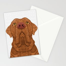 Bordeaux Mastiff Stationery Cards