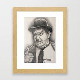 Expresion Framed Art Print
