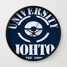 Johto University Wall Clock