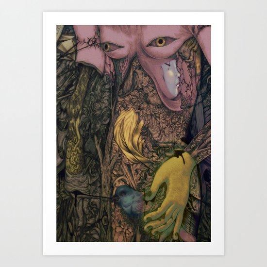 Handle Art Print