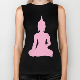 Pink Buddha Biker Tank